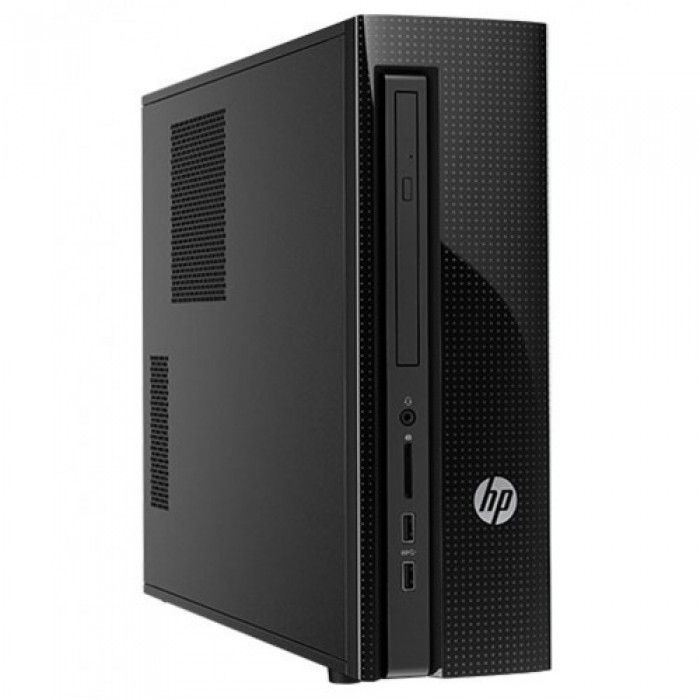 HP Desktop pc Slim on size Big on reliability.Conquer your day with this newly redesigned hp pc tower that is reliable, slimmer, and also affordable.Conquer your day with the expanded storage, powerful processor, a slimmer design, and tested reliability of this redesigned HP desktop. Finding an affordable tower with the performance you need and the name you trust just got easier.