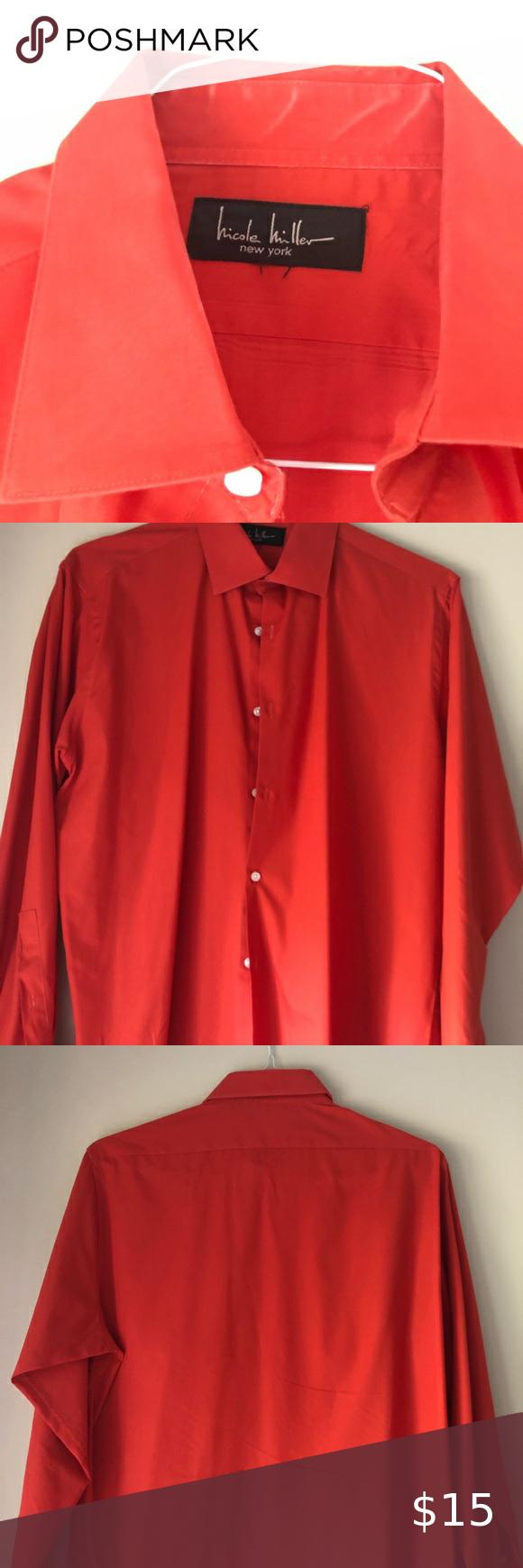 Nicole Miller Men S Dress Shirt Mens Shirt Dress Shirt Dress Shirts [ 1740 x 580 Pixel ]