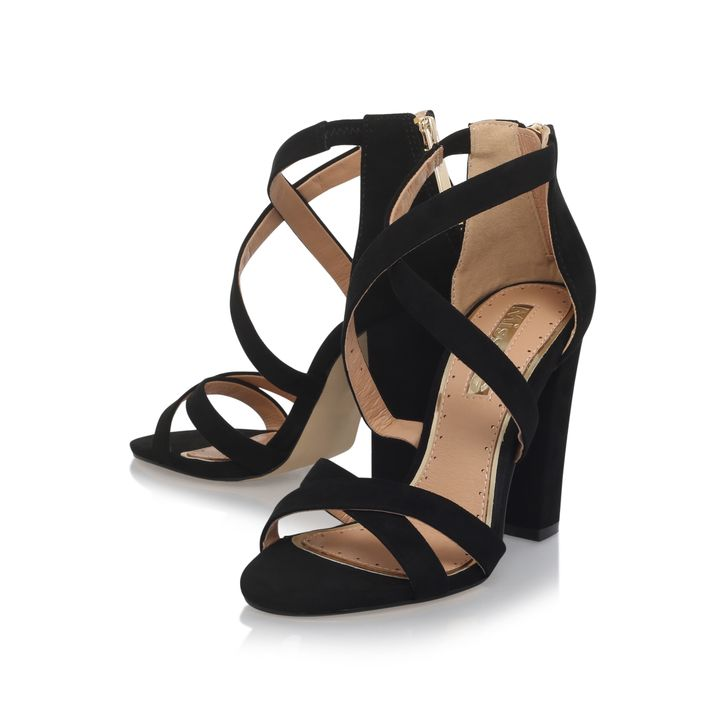 FANFARE Multi Coloured High Heel Sandals by MISS KG