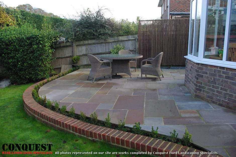 Backyard Patio And Path Ideas | ... Patio Or Path. Add Interest To
