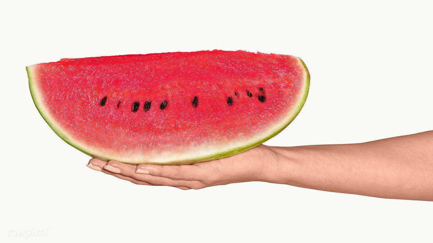 Download Premium Png Of Woman Holding A Juicy Slice Of Watermelon Design In 2020 Watermelon Designs Watermelon Design