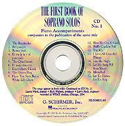 The First Book of Soprano Solos - Accompaniment CDs (Set of 2)