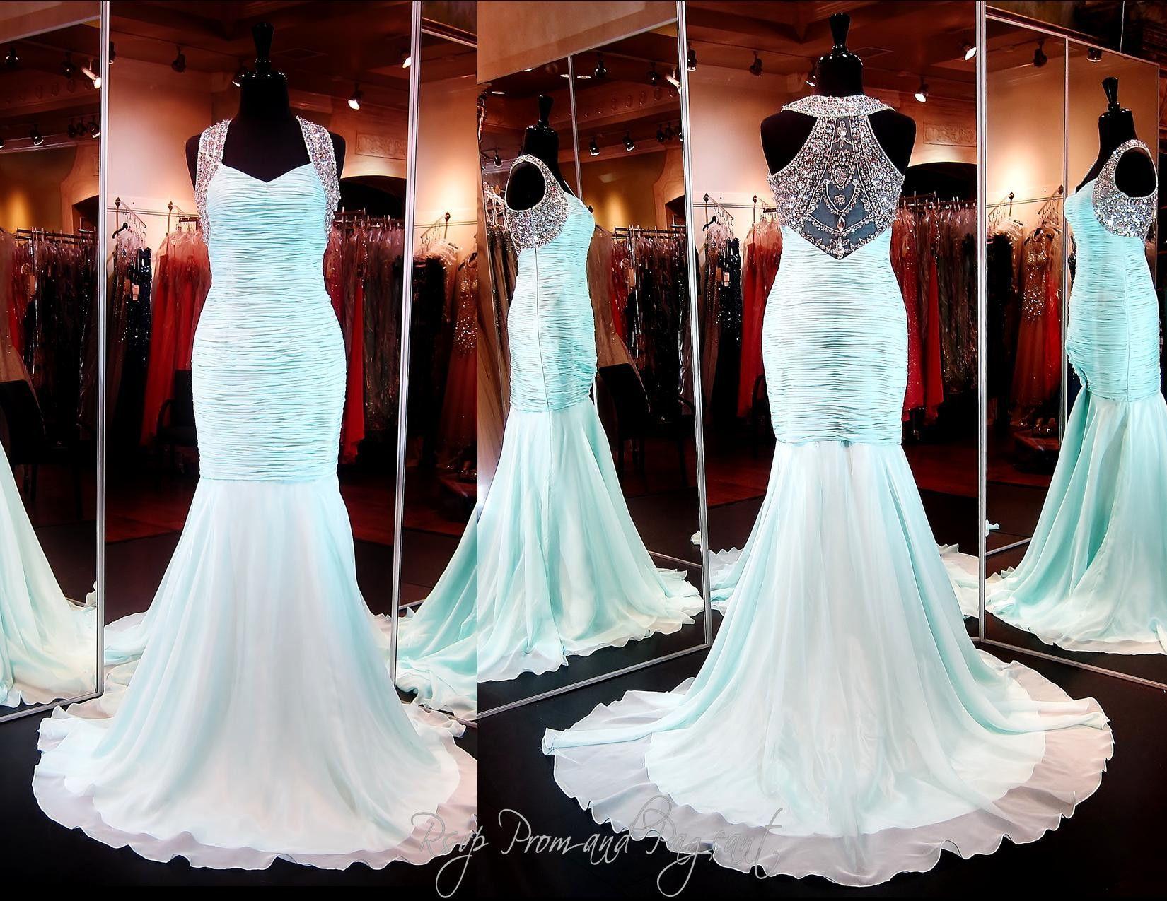 115col010120399 Aqua Prom Dresses Atlanta Pageant Dresses Aqua Prom Dress