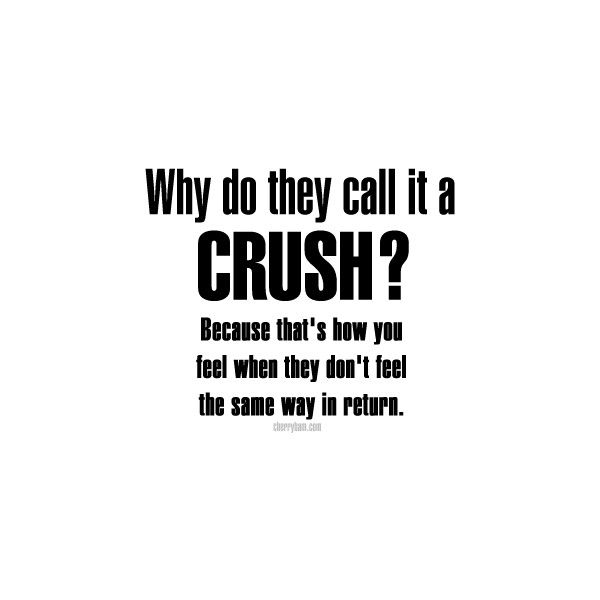 No Guy Will Ever Like Me Back So I Guess It Will Always Be Crush