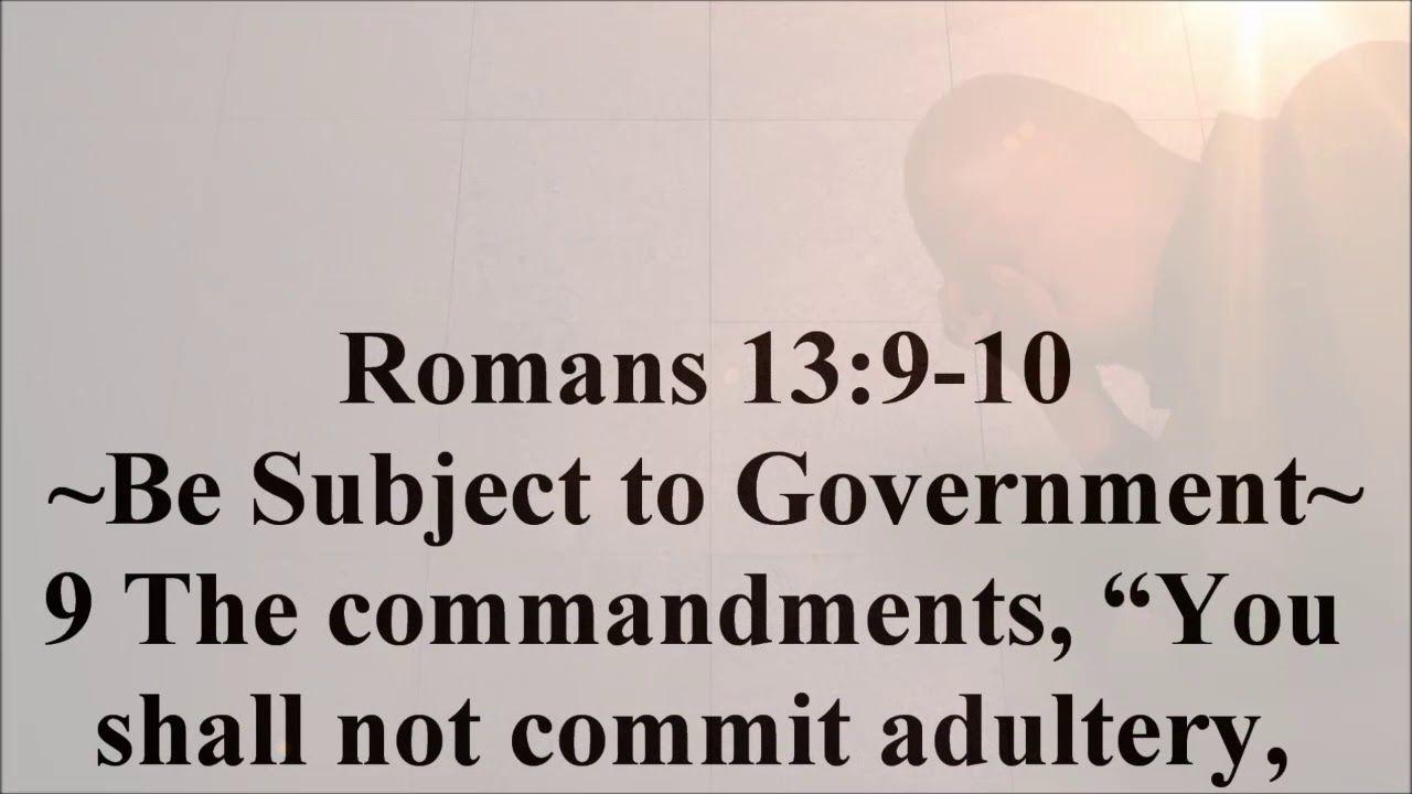 Feb 21 Romans 13 9 10 Romans 13 Romans Daily Devotional