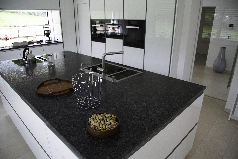 Granit Küchenarbeitsplatten Küche Küche Mit Insel