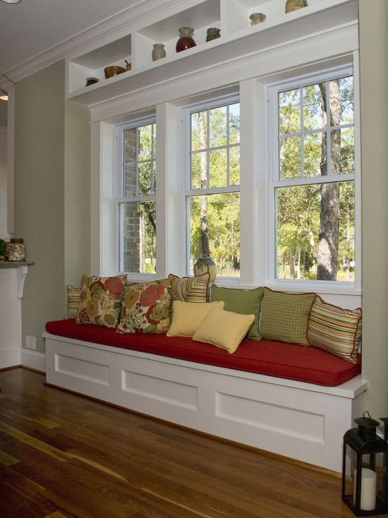 Spaces Window Bench Design, Pictures, Remodel, Decor and