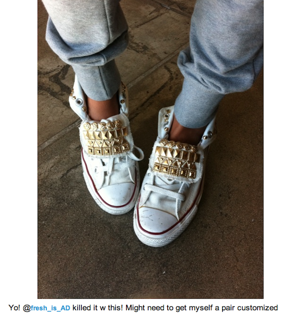 3cc95d8977a2 There are 11 tips to buy these shoes  white sneakers studded high top  sneakers lace up studs pyramid studs gold gold studs chuck taylor all stars  converse ...