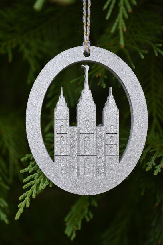 LDS Temple Christmas Ornaments Free Shipping by LilacHarvestLLC - LDS Temple Christmas Ornaments Free Shipping By LilacHarvestLLC