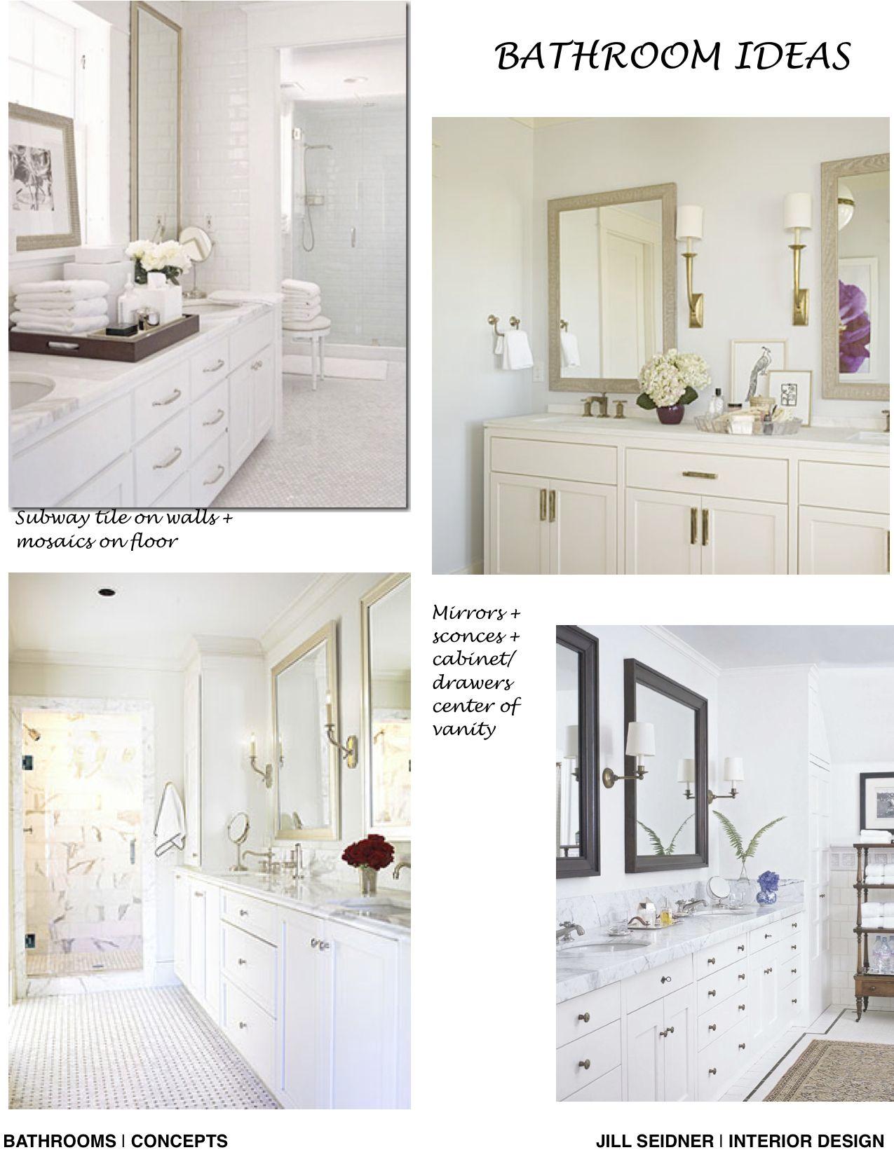 Pasadena House Bathroom Remodel Concept Board Beautiful
