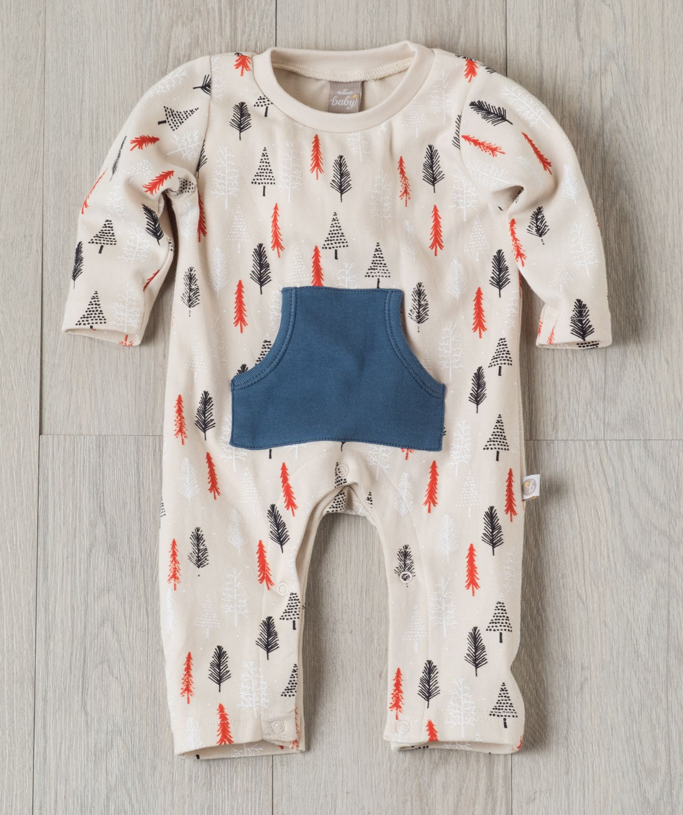 34252ff42797 Baby will love this 100% soft cotton snuggler with contrast front ...