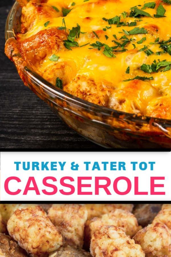 This easy, cheesy Tater Tot Casserole is perfect for ...