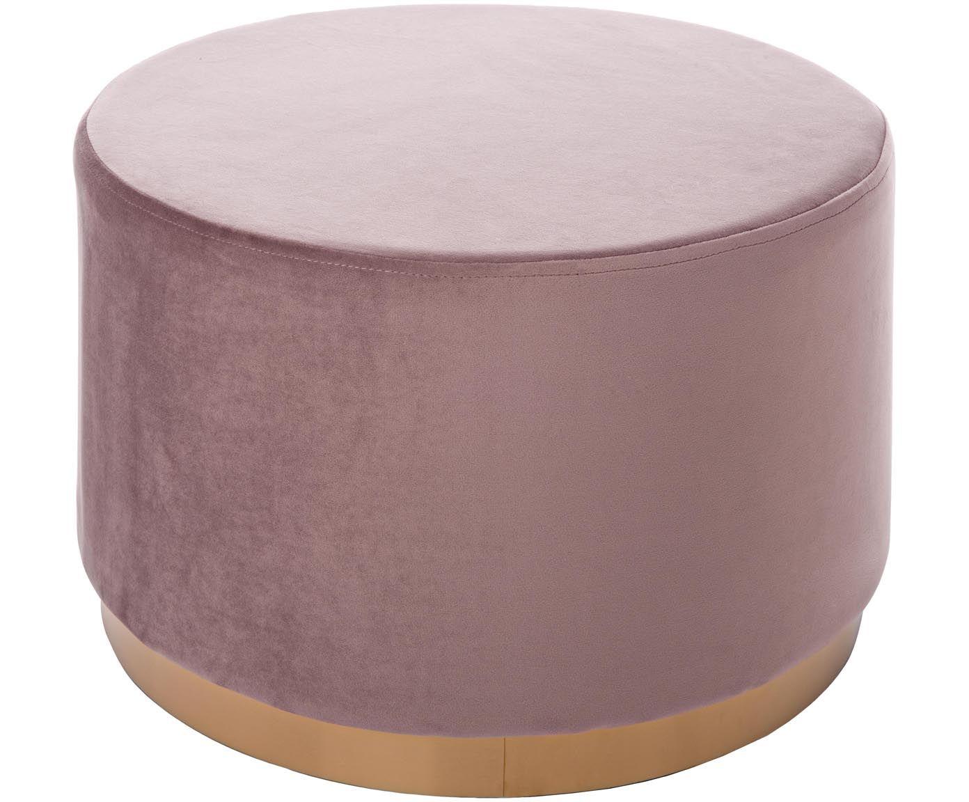 Sgabello in velluto elisabeth round sedie poltrone e divani