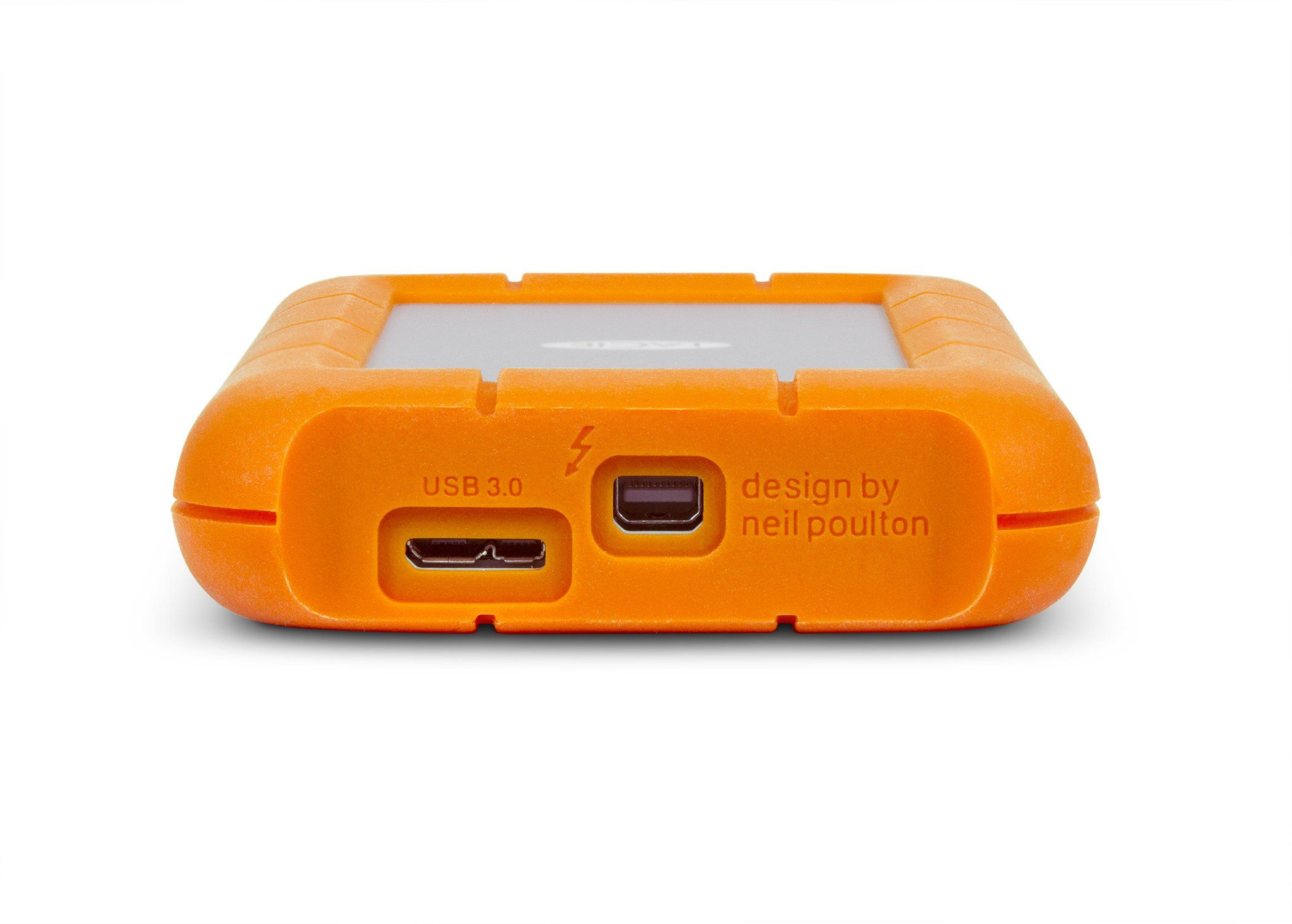 Smile Lacie Rugged Usb 3 0 Thunderbolt Series 1tb External Hard Drive 9000294