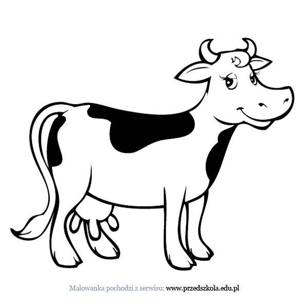 Kolorowanka Krowa Kolorowanka Darmowe Kolorowanki Krowa