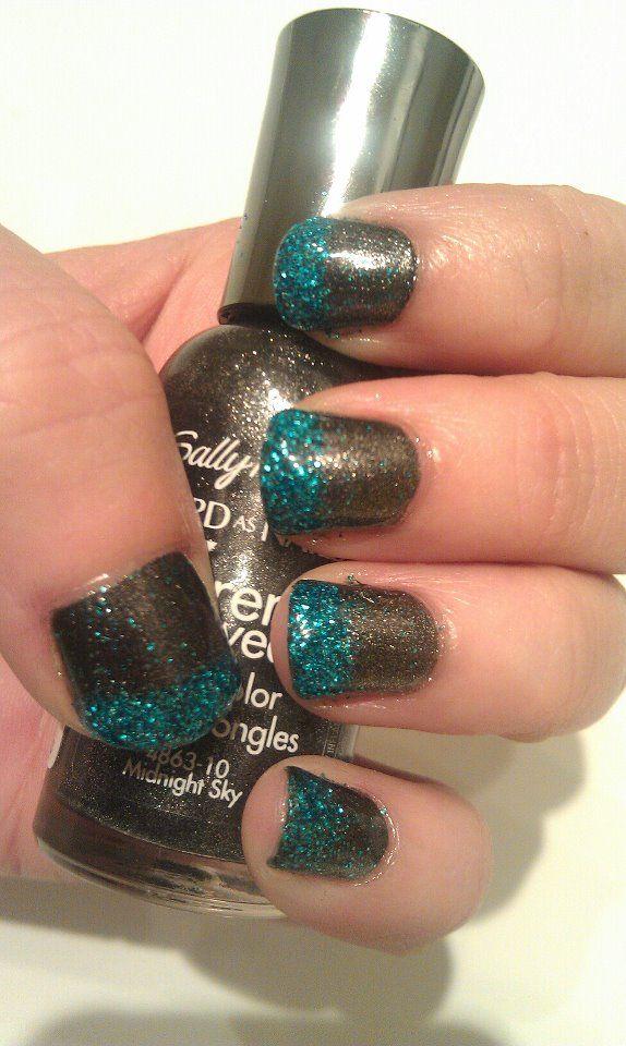 loose glitter} | Nails | Pinterest | Loose glitter, Glitter nails ...