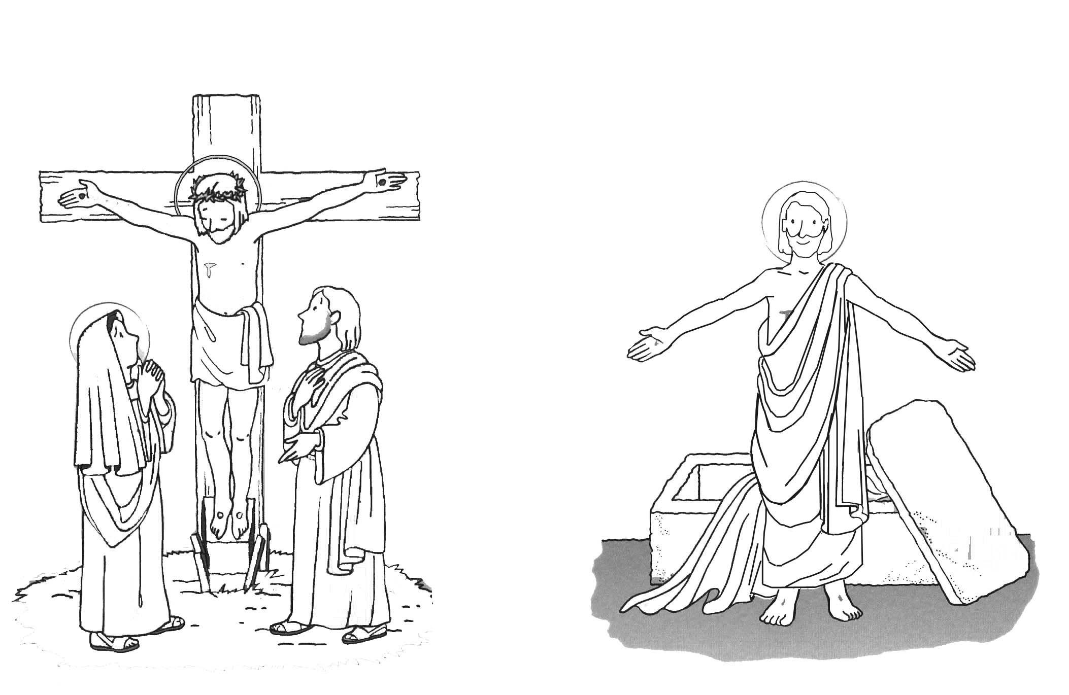 Resurreccion Para Colorear Mas Para La Con Imagenes Pascua 10