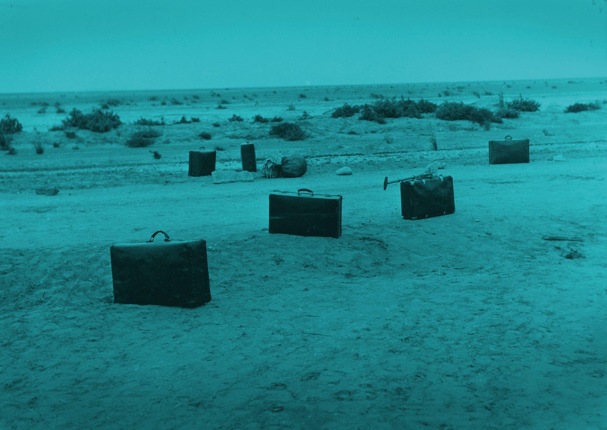 Noordoostpolder: Ramspol. Arbeiders en onderduikers in de polder. Aankomst te Ramspol. Fotocollectie Nieuw Land, Directie Wieringermeer; H. Nieuwenhuis