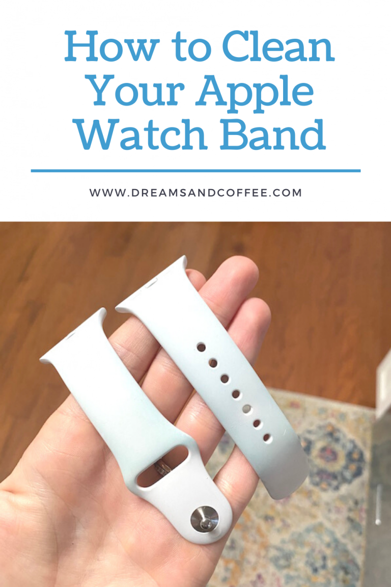 How To Clean Your Apple Watch Band And Phone Case Diy In 2020 Apple Watch Bands White Apple Watch Band Watch Bands