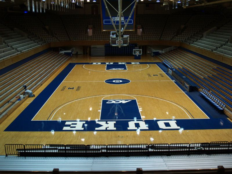 What I Would Give To Go To A Game In Cameron Indoor Indoor Basketball Court Basketball Basketball Court Flooring
