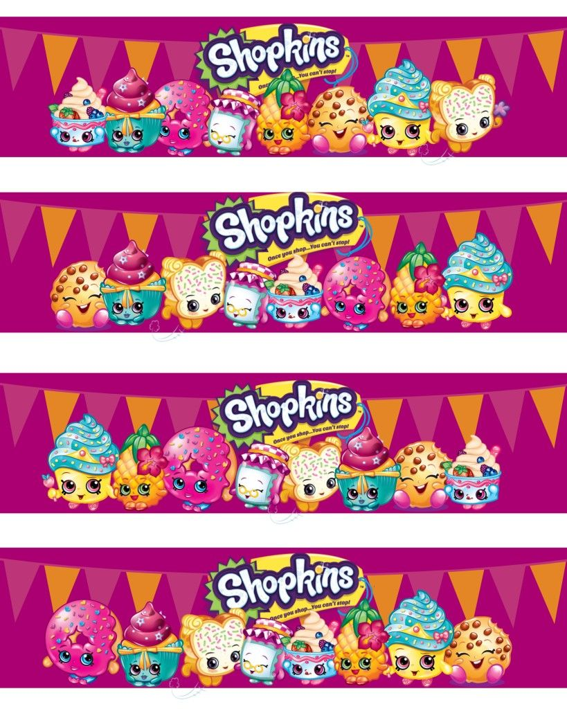 It's just an image of Unforgettable Free Printable Shopkins Food Labels
