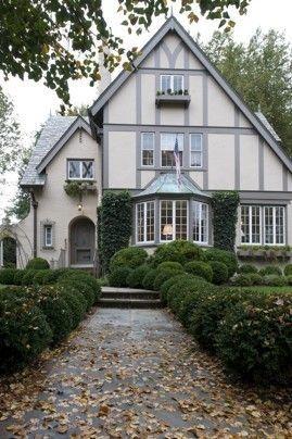Adorable Tudor Style Home Tudor House Exterior Tudor Style Homes House Styles