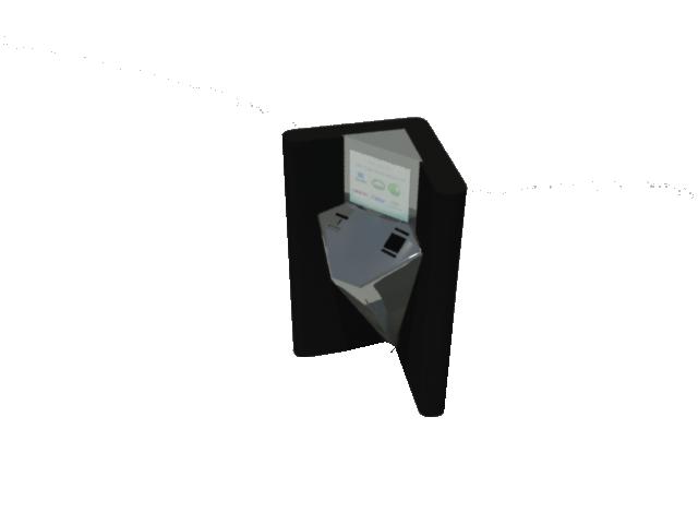 Kiosko electrónico para pagos y documentación.