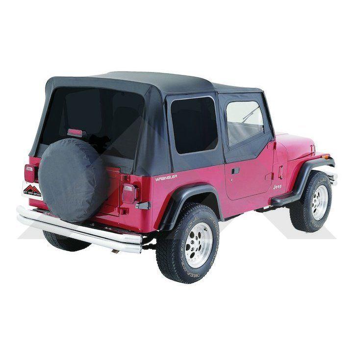 Complete Soft Top Black Denim Tinted Windows Jeep Decals Jeep Wrangler Jeep