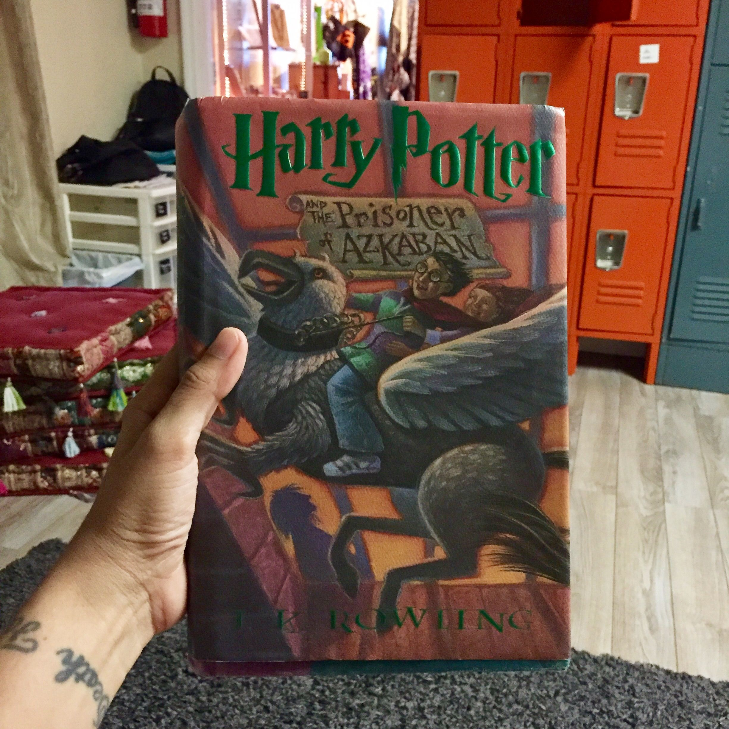 """""""Harry Potter and the Prisoner of Azkaban"""" by J.K. Rowling #nowreading #booklover"""