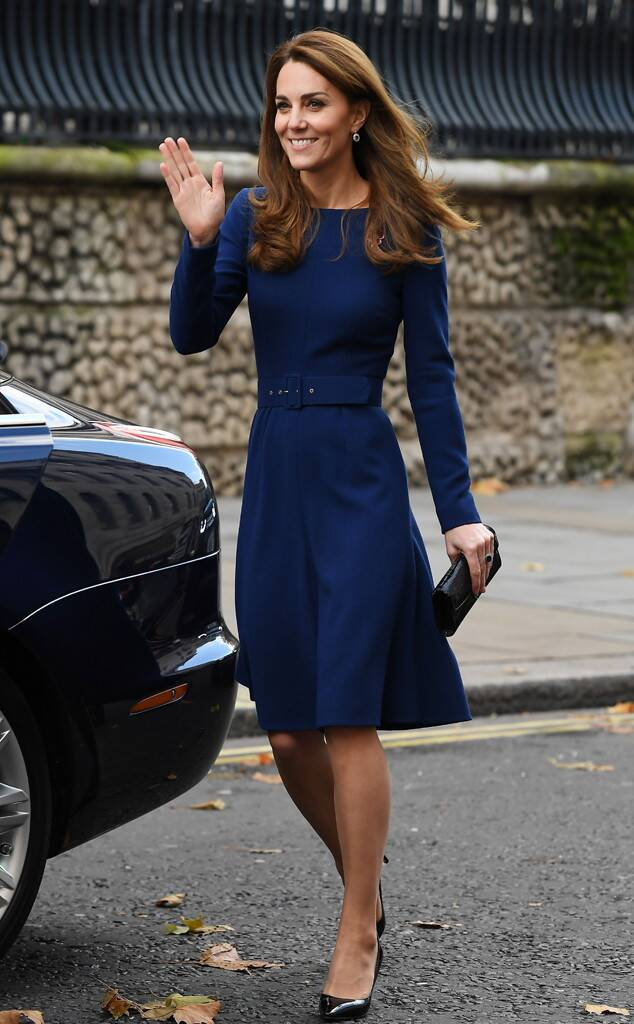 Kate Middleton Sapphire Dress Will Make You Feel Anything But Blue -   - #AngelinaJolie #ankletattoo #BeautifulCelebrities #Blue #cooltattoo #dogtattoo #dress #feathertattoo #feel #Kate #KateMiddleton #Middleton #Sapphire