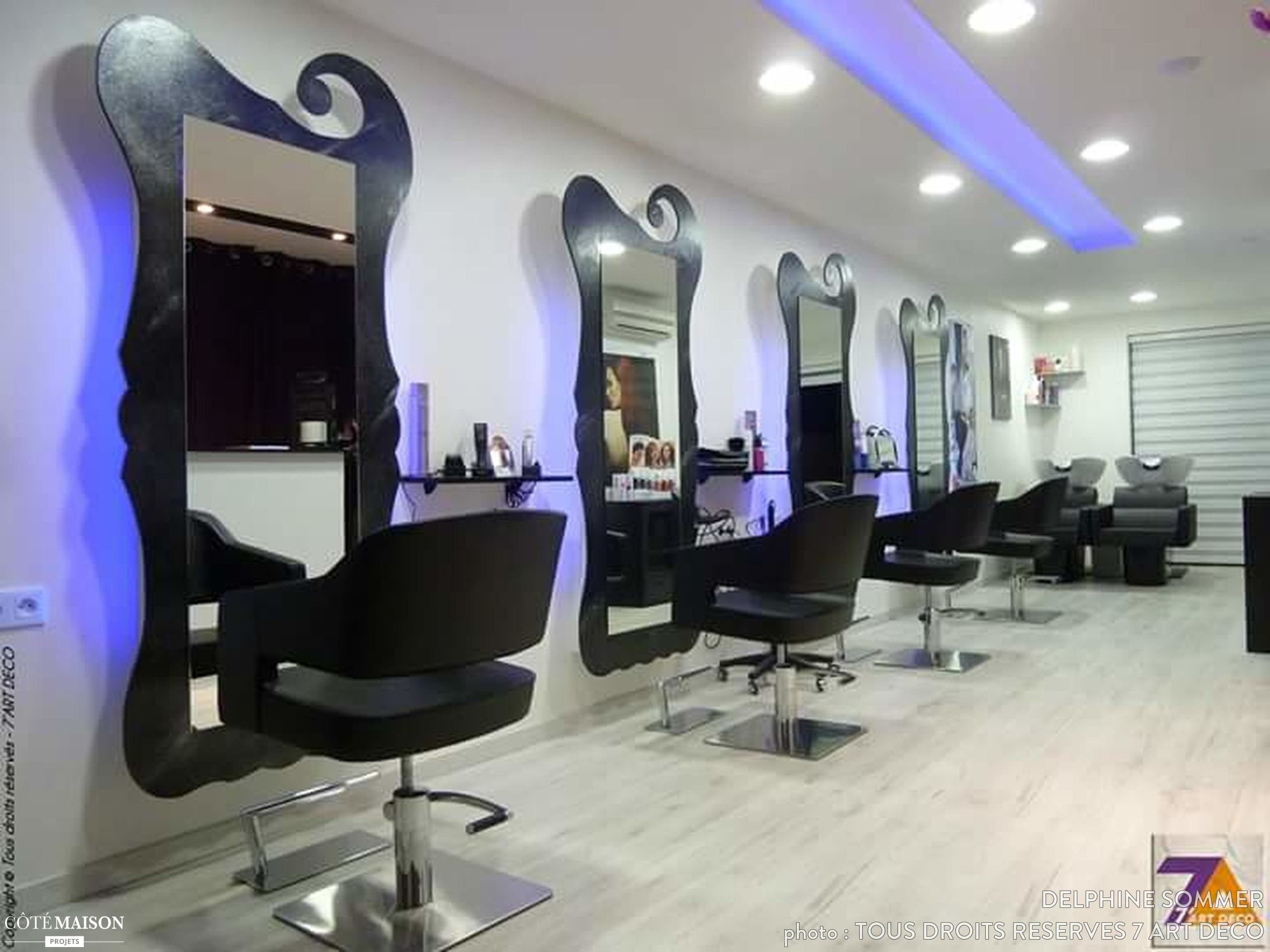 19 Decoration Salon De Coiffure 197  Home, Home decor, Design