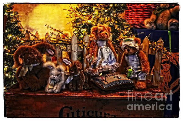 Fantastic #childrens #photograph. Teddy And Friends by Mary Machare. #buyart #artforsale #wallart