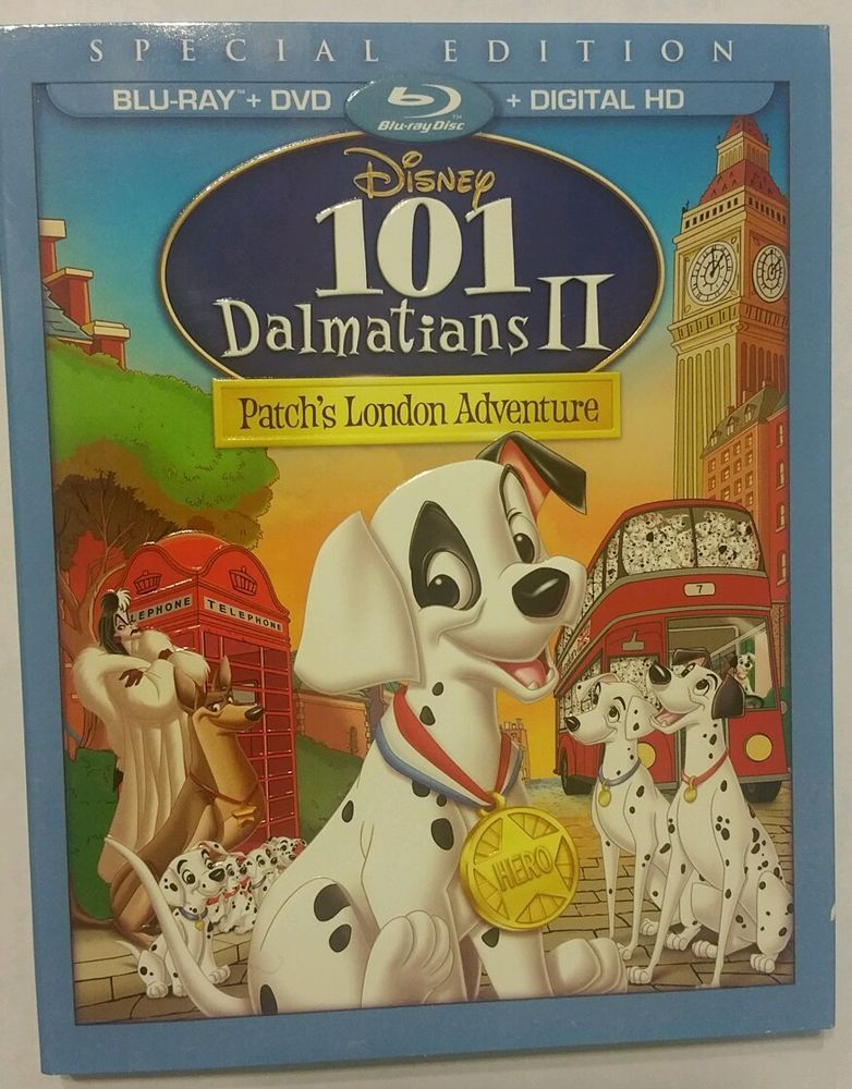101 Dalmatians Ii Patch S London Adventure In Dvds Movies