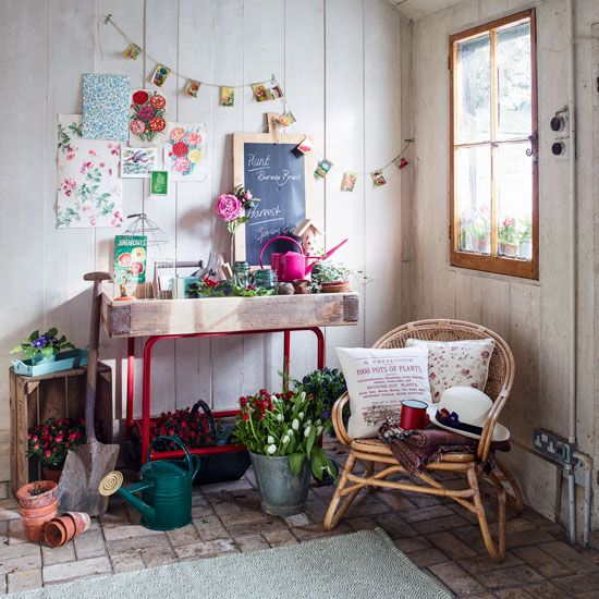 recycled potting sheds vintage style potting shed boho chic pinterest garden ideas