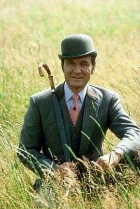 THE AVENGERS: Patrick Macnee as John Steed