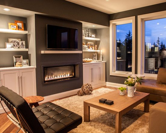 contemporary family rooms - Google Search