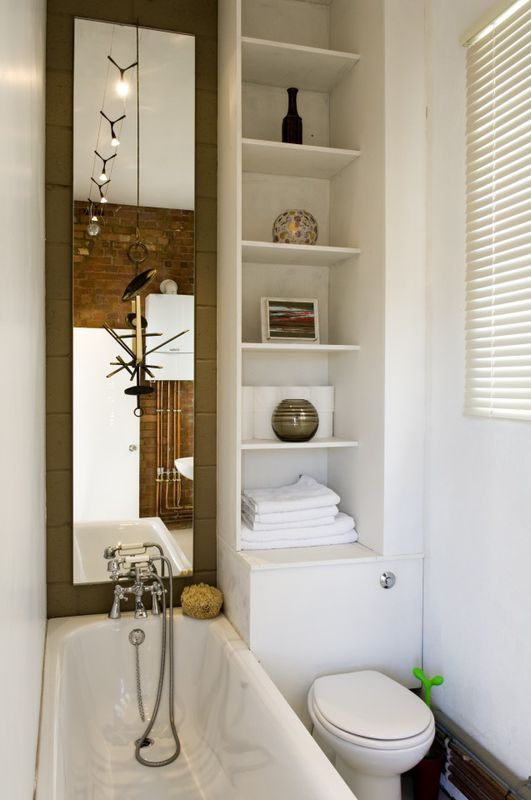 Wąska łazienka Z Wanną Bathroom Piękne łazienki Home