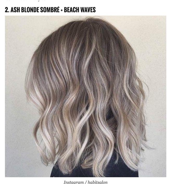 Ash Blond Hair Color Bob Hair Style Fashion Pinterest Blond