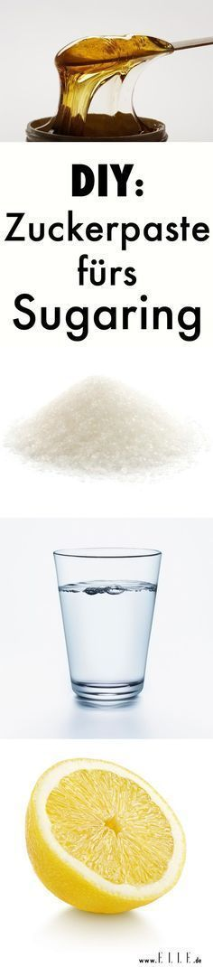 Sugaring: Sanfte Haarentfernung mit Zucker für glatte Haut #hairremoval