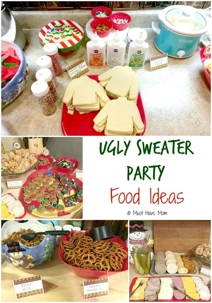 How to host an ugly Christmas sweater party. Ugly sweater party food ideas uglyu2026  sc 1 st  Pinterest & How To Host An Ugly Christmas Sweater Party | Pinterest | Ugly ...