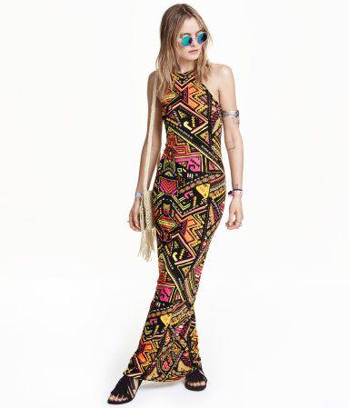 H m long summer dresses sleeveless