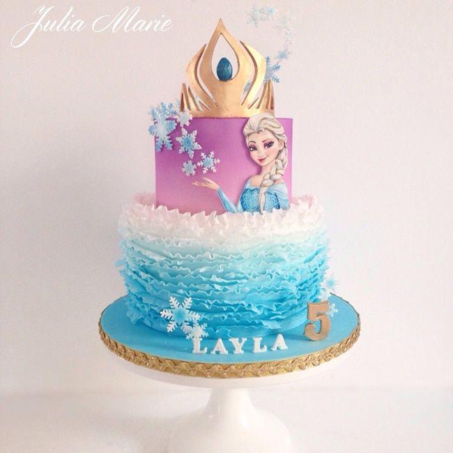15 Amazing Frozen Inspired Cakes Cake Olaf And Birthdays