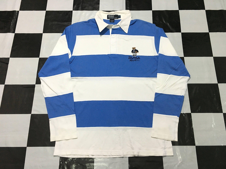 ralph lauren striped rugby polo vintage rugby ralph lauren