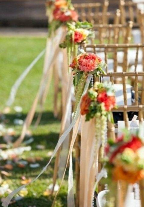 57 Fall Wedding Aisle Decor Ideas Tatianas Wedding Pinterest
