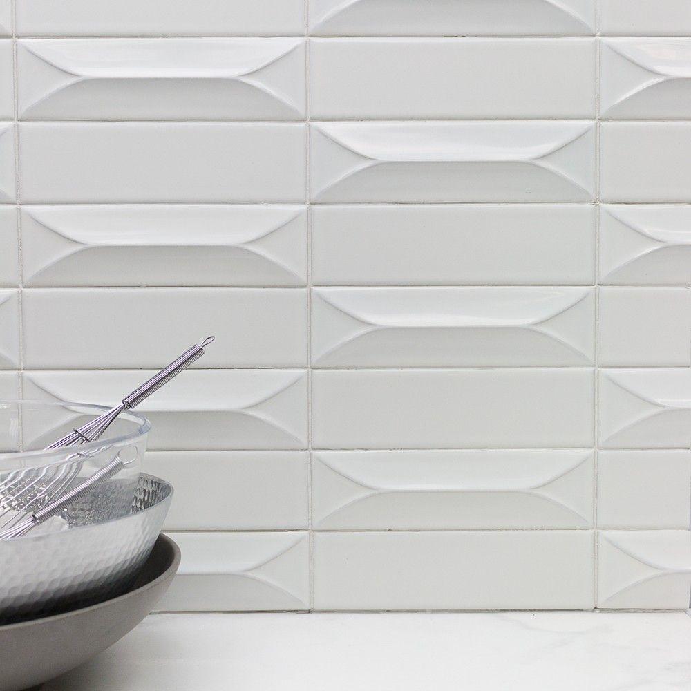 byzantine bianco 3d ceramic tile unique sizes subway tile byzantine bianco 3d ceramic tile unique sizes subway tile