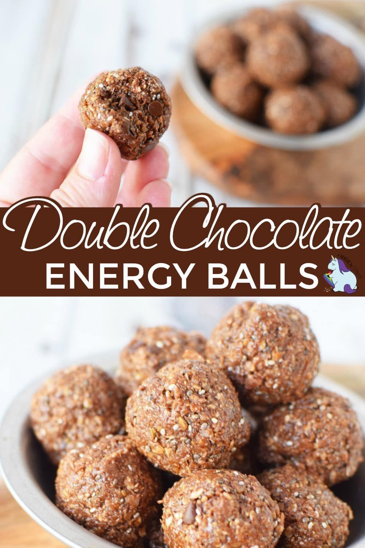 Double Chocolate Energy Balls Recipe Gluten Free Recipes
