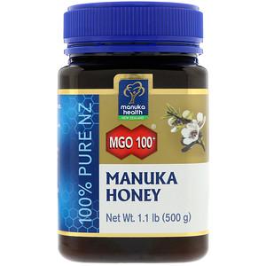 Manuka Health Manuka Honey Mgo 115 1 1 Lb 500 G Manuka Honey Health Honey
