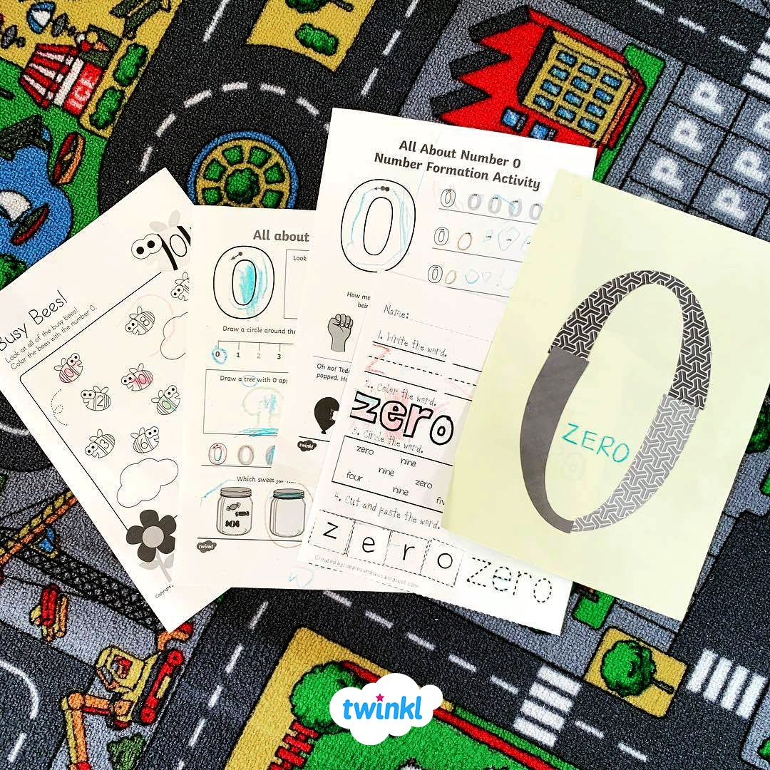 Use This Colourful Worksheet To Help Children Practise