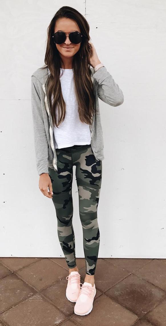 75a22d7471cea camo leggings | My Style in 2019 | Camo leggings outfit, Camo ...