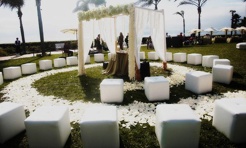 Non Traditional Wedding Ceremony Ideas Wedding And Bridal Inspiration Wedding Ceremony Seating Wedding Seating Small Weddings Ceremony